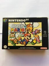 *AUS SELLER* nintendo 64 PAPER MARIO 64 n64 BOX AND MANUAL ONLY NO GAME