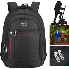 "17"" Inch Laptop Bag Backpack Rucksack Messenger Bag Multi-Function Carry Case UK"