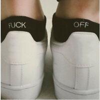 Fashion ankle Letter Print Design Off Pattern Funny Sport Socks