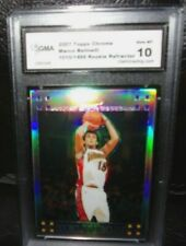 MARCO BELINELLI 2007-08 TOPPS CHROME ROOKIE REFRACTOR#1010/1499 GMA10!WARRIORS G