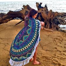 Indian Round Mandala Tapestry Roundie Beach Bohemian Yoga Throw Hippie Mat