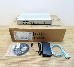 Neu Cisco C1111-8P ISR 1100 8 Ports Dual GE WAN Ethernet Router New Open Box
