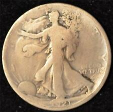 1921-D G-VG Walking Liberty Half Dollar #2 - KEY DATE TO SERIES