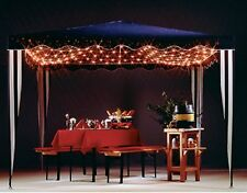 Gartenpavillion Pavillion Beleuchtung Lichtnetz 208-tlg Pavillon-Netz 3 x 3 m