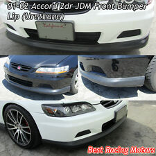 OE Style Front Bumper Lip (Urethane) Fits 01-02 Honda Accord 2dr