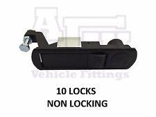10 x compressione SERRATURA LEVA lock per Horsebox, rimorchi, Locker porte, SCATOLA ROTTA