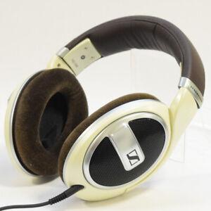 SENNHEISER HD-599 Premium Headband Headphone ivory