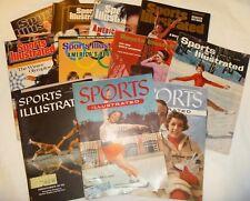 Figure Skating - Sports Illustrated - Lot of 11 - Winter Olympics 1955-2002