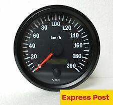 VDO COCKPIT VISION SPEEDO 12v 24v 200kph 100mm  AUTOMOTIVE  4WD 437015029
