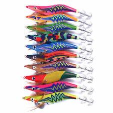 Светящиеся приманки креветки осьминог кальмар рыболовные крючки рыболовные снасти крюк приманки лот 14cm/20g