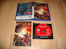 RYGAR THE LEGENDARY ADVENTURE DE TECMO PARA LA SONY PS2 USADO COMPLETO