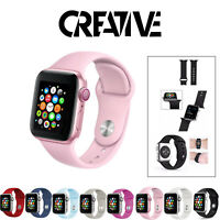 for Apple Watch Strap iWatch Series 6 SE 5 4 3 38/40/42/44mm SILICONE Sport Band