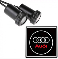 LED Logo Audi 2x Tür Shadow Licht Einstiegsbeleuchtung Projektor for Alle