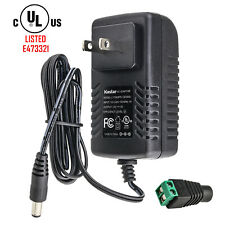 Kastar [UL Listed] 12V 3A 36W AC Adapter Power Supply for Camera LED Light Strip