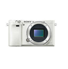 NEW Sony Alpha a6000 Mirrorless Digital Camera -White Only Body