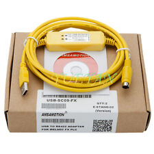 2.5M USB-SC09-FX for Mitsubishi PLC Programming Cable support Win7