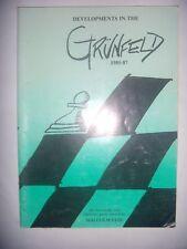 CHESS ECHECS: Developments in the Grünfeld: 1985-87, 1988, BE