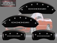 "2006-2010 ""Dodge"" Ram 1500 Front + Rear Black MGP Brake Disc Caliper Covers"