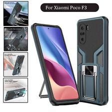 Magnetic Car Holder Mobile Cover For Xiaomi Poco F3 11 11X Pro & Redmi K40 Pro
