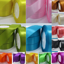 """5 yds 1"""" 25mm Satin Ribbon gift scrapbook sewing craft single sided sewing #320"""