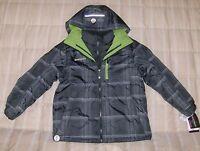 ZeroXposur NWT black/gray/green 3 in 1 jacket system,  Large, XL youth boy