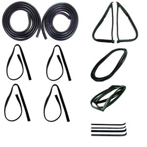 1973 - 1979 Complete Weatherstrip Kit Ford F100 F150 F250 F350 With Trim Groove
