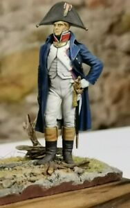 "Soldatino "" Officier en redingote 1805  54 mm metal kit"
