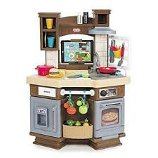 Kitchen Play Set Cook Learn Toys Kids Toddler Boy Girl Sound Effects Gift New