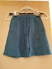 NWOT Urban Outfitters Cooperative Short Teal   Blue Skirt With Pockets XS