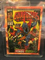 Tom Defalco Kevin West Dual Auto Cover Comic 2014 GUARDIANS OF THE GALAXY B14