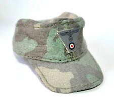1/6 SCALE DRAGON GERMAN WWII - CAMO HAT W/ BADGE WH
