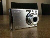 Sony Cyber-shot DSC-W90 8.1MP Digital Camera - Silver
