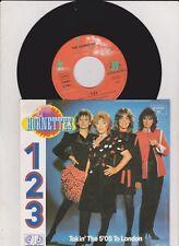 """The Hornettes - 1-2-3 (Promo 7"""" Single)"""