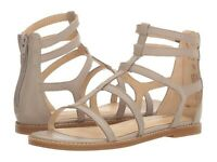 Hush Puppies Women's Abney Chrissie Lo Gladiator Sandal Light Taupe Size 9.5W