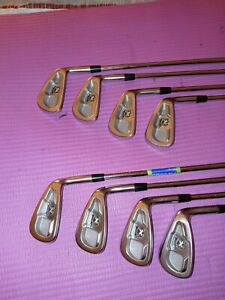 Callaway 2009 model X irons Forge 3-pw