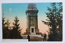 26734 AK Plauen Bismarcksäule auf dem Kemmler Bismarckturm