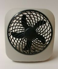 """O2COOL 5"""" Battery Operated Portable Fan Powerful 2 Speed Home Great Gift"""