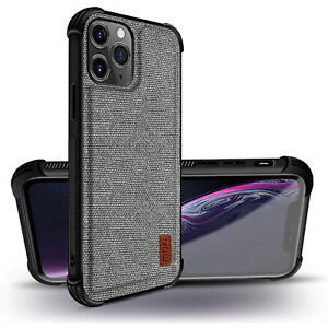 "Mofi iPhone 12 Pro Case, 12 Pro 6.1"" Case Thick Fabrics Shockproof Flexible TPU"