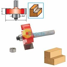 "1/4"" Shank 35 x 12.7mm Rebate Cutter Router Bits Template Tenon Lap High Quality"