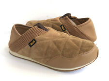 TEVA MEN EMBER MOC SHEARLING PECAN SUEDE MOCCASIN SHOES US 13 / EU 47 / UK 12