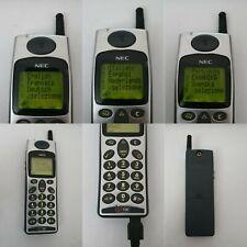 CELLULARE NEC DB2000 GSM SILVER RETRO PHONE UNLOCKED SIM FREE DEBLOQUE