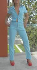 VINTAGE LiLi 1990s Original Groovy Hip Powder Blue Retro Suit