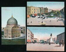 Egypt ALEXANDRIA x9 c1900/20s? PPCs by Cairo Postcard Trust
