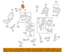 Honda Genuine 81143-TF0-G01ZF Headrest Guide