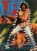 NEIL YOUNG & CRAZY HORSE 1987 LIFE TOUR CONCERT PROGRAM BOOK BOOKLET / NM 2 MINT