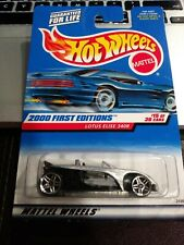 Hot Wheels 2000 First Editions Lotus Elise 340R #15 Of 36 1999 SILVER