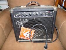 Fender Reverb Amp Works!.