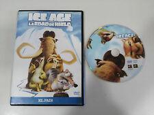 ICE AGE LA EDAD DE HIELO DVD SLIM + EXTRAS CASTELLANO ENGLISH