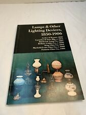 LAMPS & OTHER LIGHTING DEVICES, 1850-1906 By Pyne Press Editors Used/ Good Shape