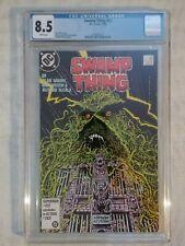 SWAMP THING (2ND SERIES) #52 1986 CGC 8.5